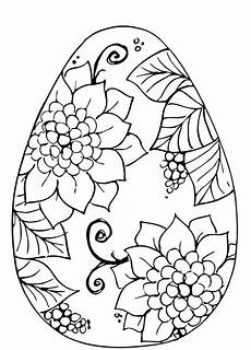 Coloring Eggs Large Easter Egg Coloring Pages At Getdrawings Free