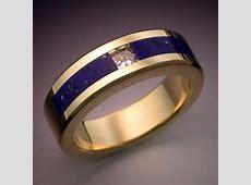 18k Gold Nine Planets Ring with Meteorite & Gemstones