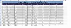 Excel Inventory Database Template Excel Inventory Control List Template Xls