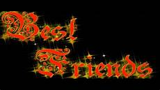Sparkling Text Friendship Day Animation Sparkling Text Quot Best Friends