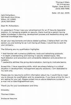 Information Technology Cover Letters Information Technology Cover Letter Examples Resume Now