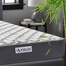 single bamboo fiber mattress 3ft single pocket sprung and