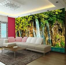 home decor wall murals 3d river theme waterfalls wall mural photo wallpaper