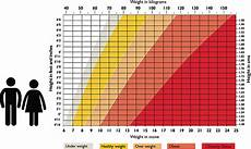 Average Weight To Height Chart Health Paul Parker Personal Training Personal Trainer