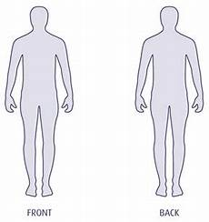 Outline Of Human Body Front And Back What S The Safest Place On The Body To Be Shot Ign Boards