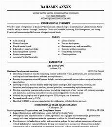 Business Resume Objective Business Development Associate Objectives Resume