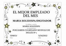 Formato Reconocimiento Empleado Del Mes Diploma1