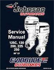 1996 Johnson Evinrude Quot Ed Quot 90 Lv 125c 130 200 225 250