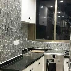 glass backsplash tile ideas for kitchen glass and metal tile backsplash ideas bathroom stainless