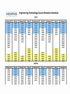 Rotation Schedule Free 6 Rotation Schedule Examples Amp Samples In Pdf Doc