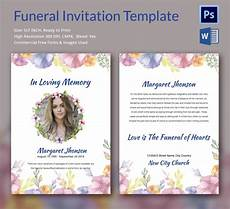 Funeral Invitation Sample Sample Funeral Invitation Template 11 Documents In Word