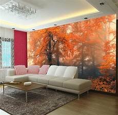 home decor wall murals 3d autumn fall tree wall mural photo wallpaper