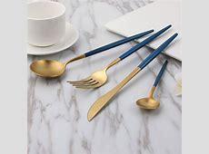 Hot Sale 4Pcs/Set Stainless Steel Dinnerware Set Cutlery