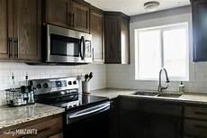 installing kitchen tile backsplash how to install subway tile backsplash diy hometalk