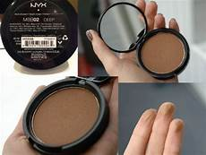 Nyx Professional Makeup Matte Bronzer Light Nyx Matte Bronzer In Deep The Shade Deep Is The Most Cool