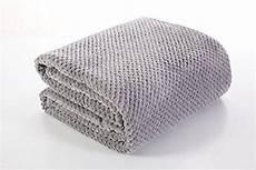 steel grey king 220x240 cm fleece microfibre soft touch t