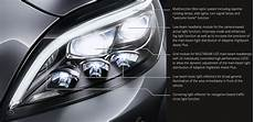 Mercedes Benz Cornering Lights The Future Of Light Mercedes Benz Cls