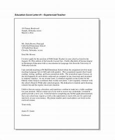 Education Job Cover Letter Teacher Cover Letter Example 12 Free Word Pdf