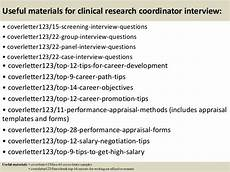 Clinical Research Coordinator Cover Letters Top 5 Clinical Research Coordinator Cover Letter Samples