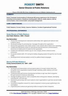 Public Relation Director Resume Director Of Public Relations Resume Samples Qwikresume