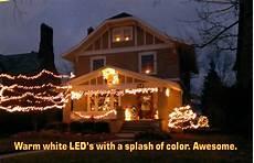 Led Vs Clear Christmas Lights Merry Brite Christmas Lights