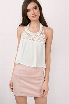 chic lavender tank top backless top purple top 21 00