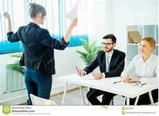 Successful Jobs Successful Job Interview Stock Photo Image Of Corporate