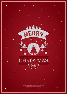 Chrismas Posters Merry Christmas Poster Design Vector Image 1744236