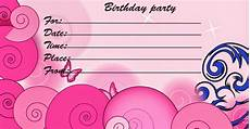 Birthday Invitation Card Maker Free Printable Printable Birthday Cards Printable Invitation Cards