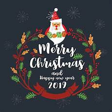 Merry Christmas Greeting Card Design Merry Christmas Greeting Card Design Vector Illustration