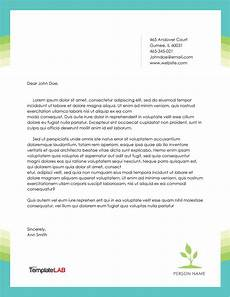 Examples Of Personal Letterhead 45 Free Letterhead Templates Amp Examples Company