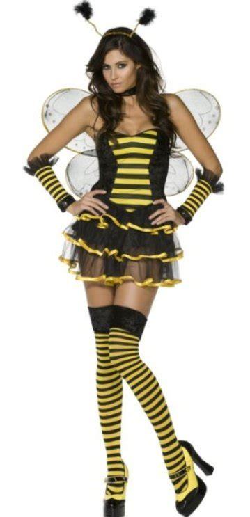 Sexy Queen Bee Halloween Costume