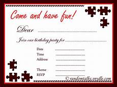 Free Printable Birthday Invitations For Adults Free Printable Birthday Invitations Random Talks