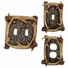 Deer Light Switch Covers Deer Antler Switch Plate Covers Cabin Place