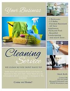 Cleaning Leaflet Template Cleaning Service Flyer Templates Postermywall