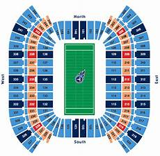 Titans Interactive Seating Chart Nfl Stadium Seating Charts Stadiums Of Pro Football