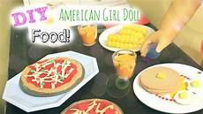 diy american doll food