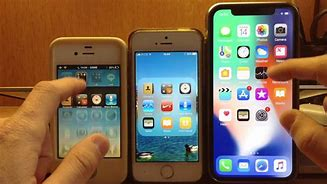 Image result for iPhone X vs iPhone 5S