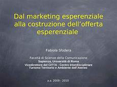 dispense marketing marketing esperienziale e offerta dispense