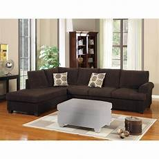 shop luxurious and plush 2 corduroy sectional sofa
