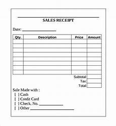 sale receipt template free 19 sales receipt templates in docs