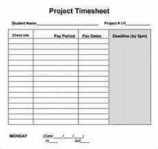 Project Timesheet Free 7 Sample Project Timesheets In Google Docs Google