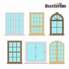 Windows Clip Art House Windows Clip Art Set Daily Art Hub