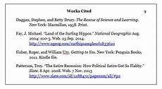 Work Cited Entry Files Dr E S Course Blog Site