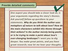 Commentary Example In Essays 3 Ways To Write A Commentary Wikihow