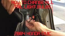 Honda Civic Light Bulb Tutorial Change All 2004 Honda Civic Light Bulbs