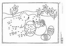 Ausmalbilder Ostern Nach Zahlen Kinder