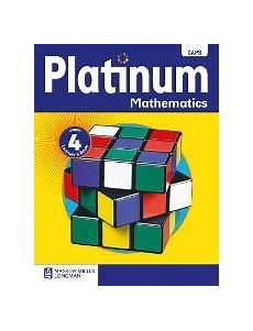 9780636135338 Platinum Mathematics Grade 4 Learners Book