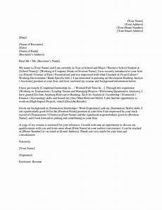 Cover Letter Example Investment Banking Investment Banking Cover Letter Template