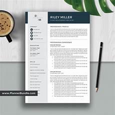 2020 Best Resume Templates Best Resume Template Word 2020 Editable Cv Template